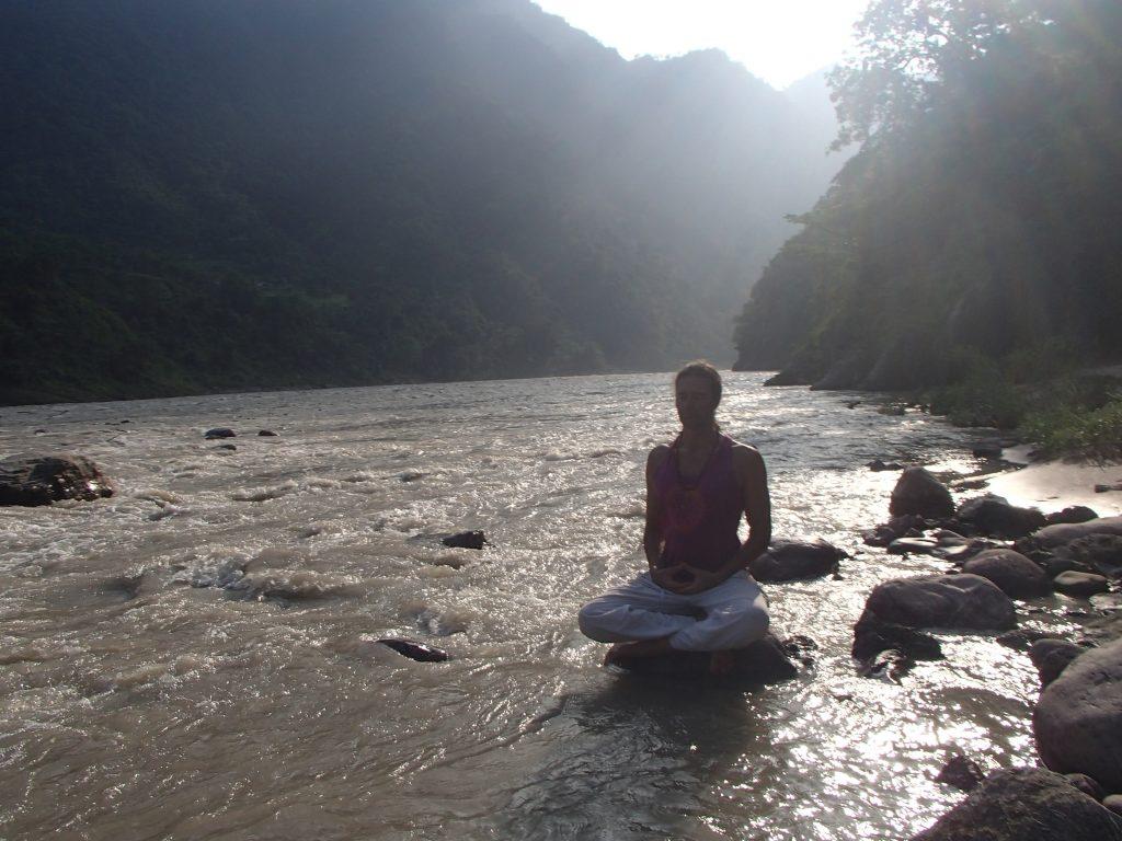 Meditación en el Ganges